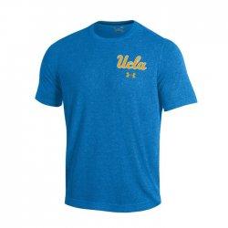 UCLA BRUINS UA スレッドボーン ショートスリーブシャツ ライトブルー