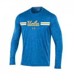 UCLA BRUINS UA 2017 サイドライン ロングスリーブシャツ ライトブルー