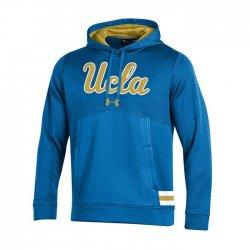 UCLA BRUINS UA サイドラインストームアーマー パーカー ライトブルー