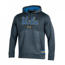 UCLA BRUINS UA サイドラインストームアーマー パーカー ブラック