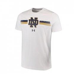 NOTRE DAME UA 2017 サイドライン ショートスリーブシャツ ホワイト