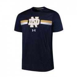 NOTRE DAME UA 2017 サイドライン ショートスリーブシャツ ネイビー
