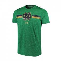 NOTRE DAME UA 2017 サイドライン ショートスリーブシャツ グリーン