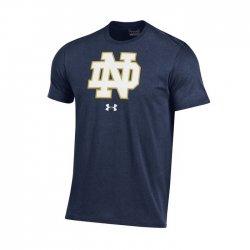 NOTRE DAME UA スクールロゴ ショートスリーブシャツ ネイビー
