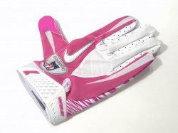 XLサイズ USED NIKE NFL VAPOR JET FOOTBALL GLOVES ピンク
