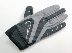 Mサイズ NIKE COLLEGE ELITE REMIX GLOVES グレー