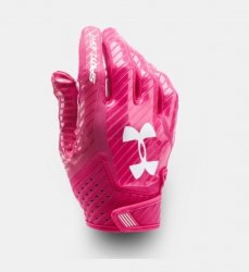 UNDER ARMOUR SPOTLIGHT 2017 FOOTBALL GLOVES ピンク