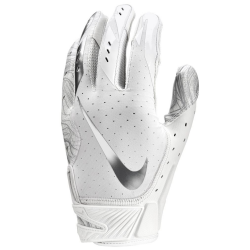 NIKE VAPOR JET 5 FOOTBALL GLOVES ホワイト・クローム