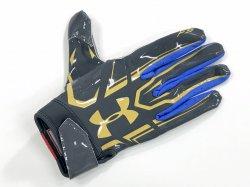 Lサイズ UNDER ARMOUR UCLA F5 ミッドナイトネイビー・ゴールド