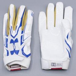 Mサイズ UNDER ARMOUR UCLA F5 ホワイト・ゴールド