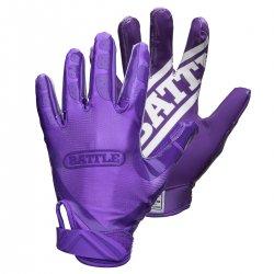 Battle Football Gloves スペシャルエディション フルパープル