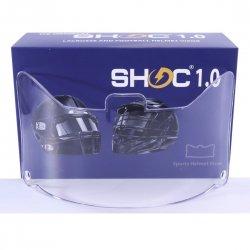 SHOC 1.0 LIGHTNING フットボールバイザー クリア