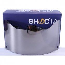 SHOC 1.0 LIGHTNING フットボールバイザー クロームミラー