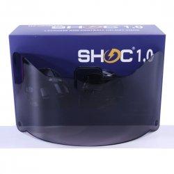SHOC 1.0 LIGHTNING フットボールバイザー スモーク40%
