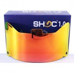 SHOC 1.0 LIGHTNING フットボールバイザー インフェルノ