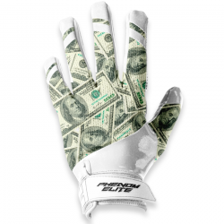 PHENOM ELITE MONEY FOOTBALL GLOVES