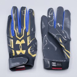 M,L,XLサイズ UNDER ARMOUR UCLA F5 ミッドナイトネイビー・ゴールド