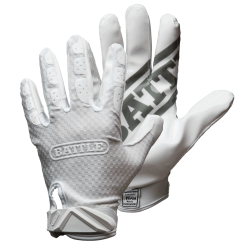 BATTLE TRIPLE THREAT FOOTBALL GLOVES ホワイト