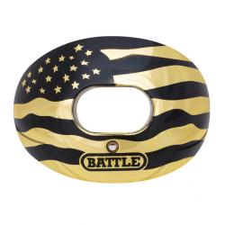BATTLE バトルオキシジェン・マウスガード メタリッククローム ゴールドアメリカ