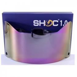 SHOC 1.0 LIGHTNING フットボールバイザー ピンクラズベリー