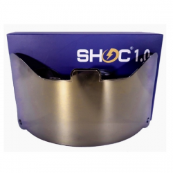 SHOC 1.0 LIGHTNING フットボールバイザー ゴールデンドラゴン