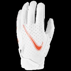 NIKE VAPOR JET 6.0 FOOTBALL GLOVES ホワイト・チームオレンジ