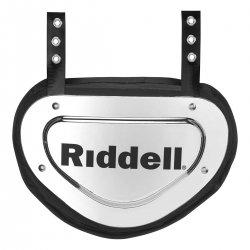 RIDDELL POWER クローム バックプレート メタリックシルバー