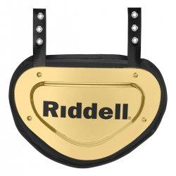 RIDDELL POWER クローム バックプレート メタリックゴールド