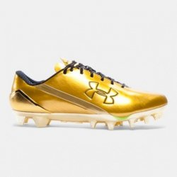 UNDER ARMOUR SPOTLIGHT LE クローム・メタリックゴールド