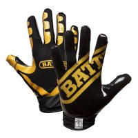 Battle Ultra-Stick Receiver Gloves ブラック・ゴールド