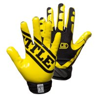 Battle Ultra-Stick Receiver Gloves イエロー
