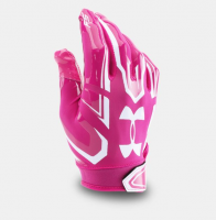 UNDER ARMOUR F5 FOOTBALL GLOVES ピンク