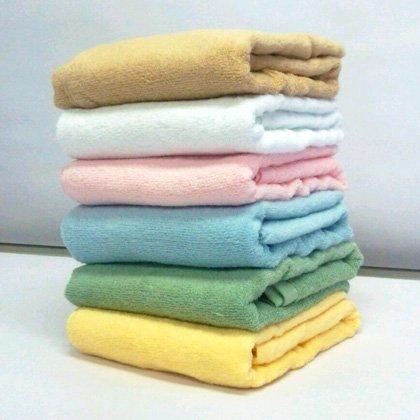 無撚糸 カラー バスタオル