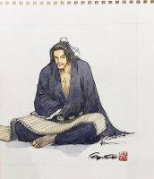 王欣太 『龐統 - 鳳雛と呼ばれた軍師』 (原画)