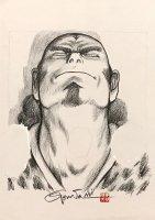 王欣太 『軍儀の董卓』 (原稿前原画)