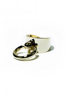 knock objet ring (gold)