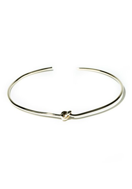 loop design choker (gold)