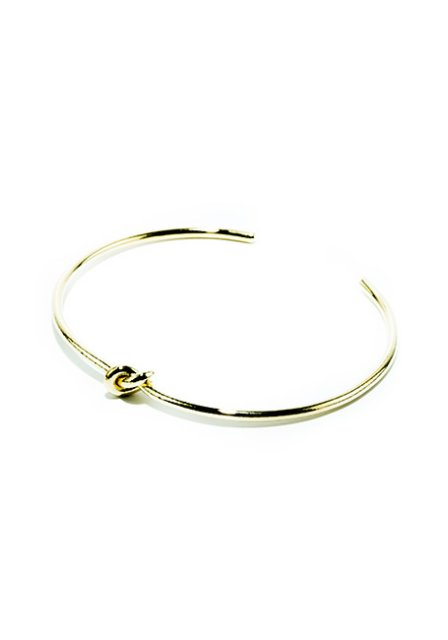 loop design bangle (gold)