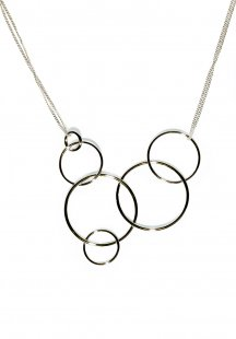 some rings necklace (gold)