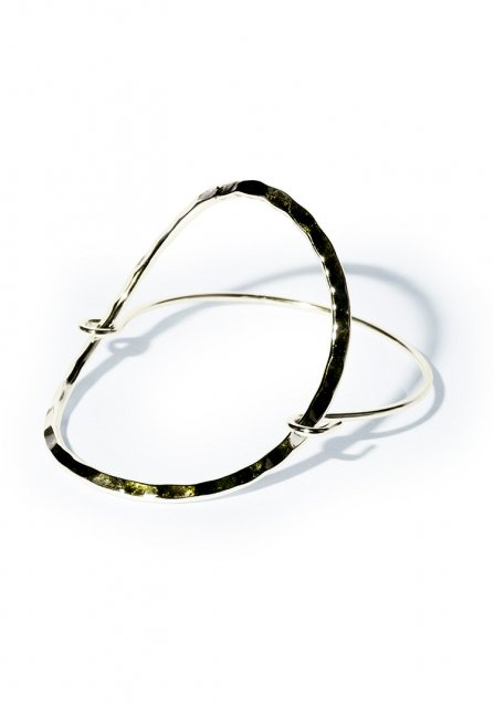 clothe circle bracelet (gold)