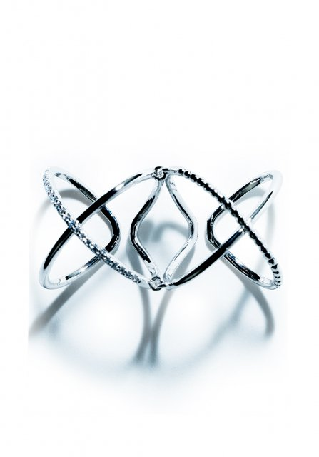 w cross ring (silver)