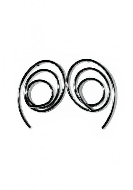 round and round pierce (silver)