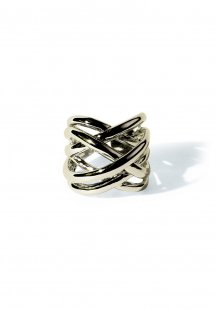 triple cross ring (gold)