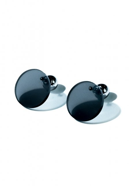 bowl and circle  pierce (clear black)