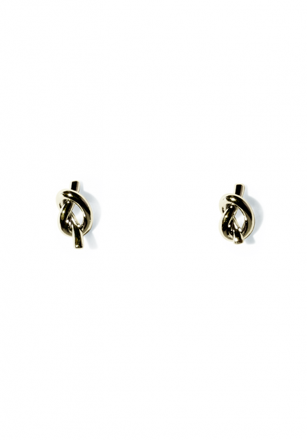 tiny knot pierce (gold)