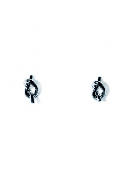 tiny knot pierce (silver)