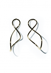 curve pierce (gold)