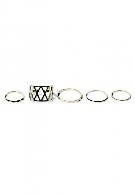 grammar various ring set(gold)
