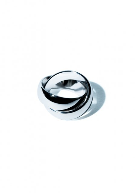 crossing ring (silver)