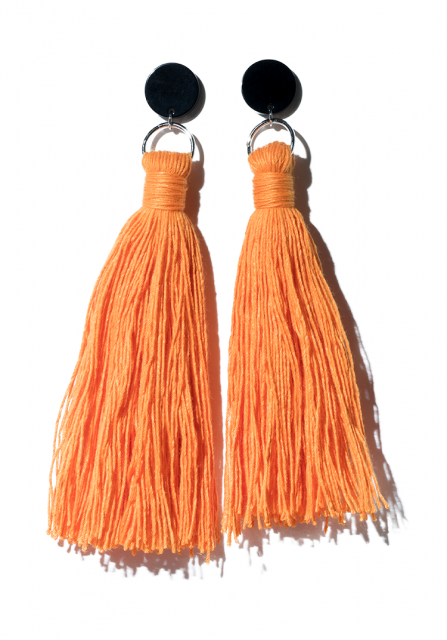 fringe pierce (orange)